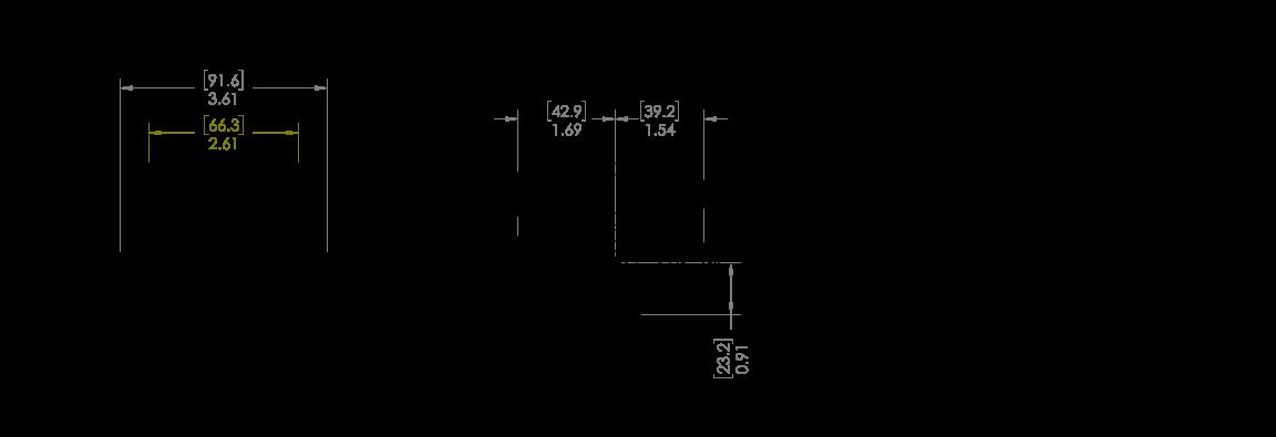 mpower® ORV 2x1  Dual Stacked Kit Schematic