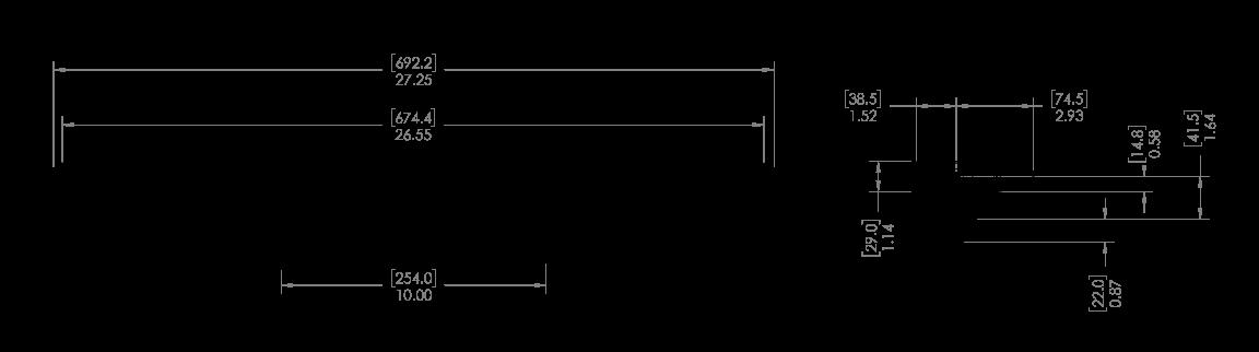 """mpower® ORV 24'"""" Lightbar Schematic"""